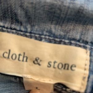 Cloth and stone shirt